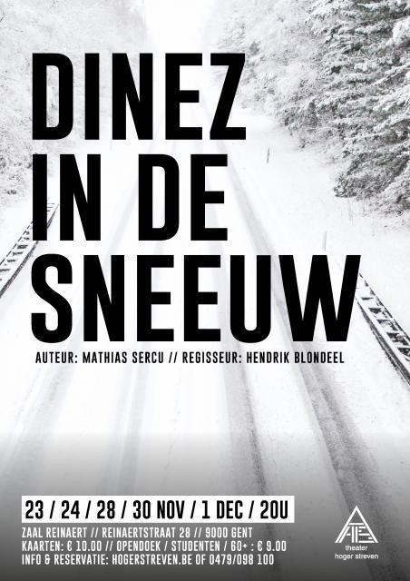 Affiche Dinez In De Sneeuw